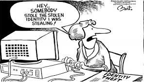 Stolen identity stolen