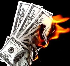 MoneyBurning Tax Day