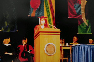 Deb Honors Convocation