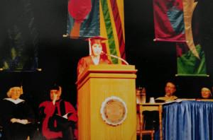 Deb Honors Convocation